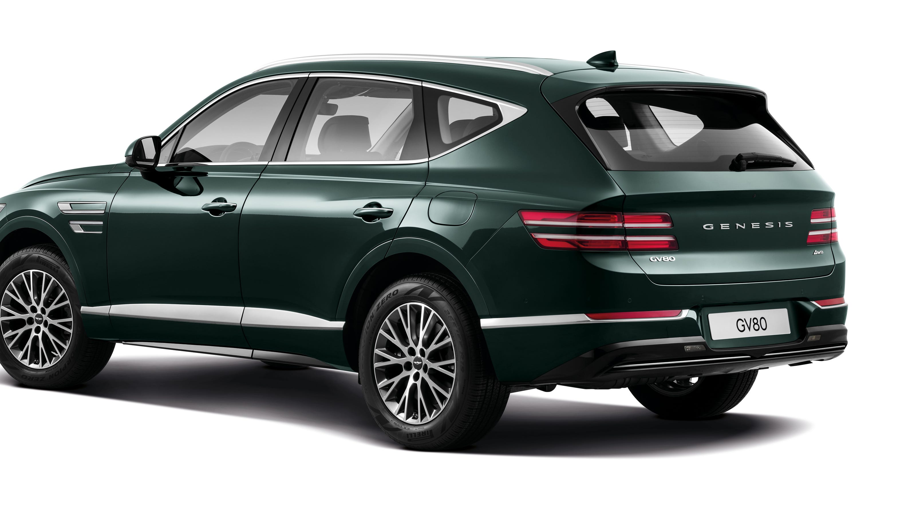 genesis suv 2021 gv80 can learn your driving style and