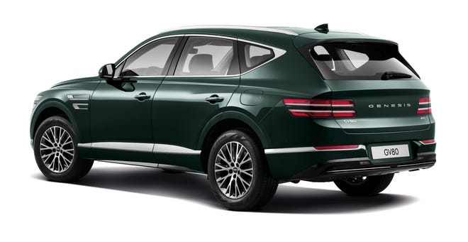 The Genesis GV80 SUV goes on sale this summer.