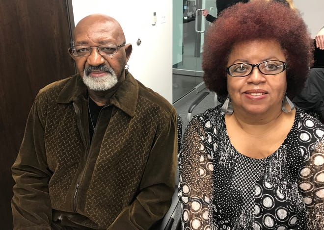 Ernest Sumpter, 68, and Rosaline Johnson, 64, are neighbors in a senior complex in Detroit and say a woman went door-to-door to promote her $50 tax preparation services and ultimately rip off seniors.