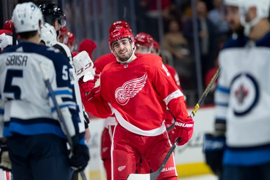 The Red Wings acquired Robby Fabbri in November.
