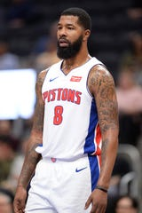 Pistons forward Markieff Morris is changing his jersey number to 88, in honor of Kobe Bryant.