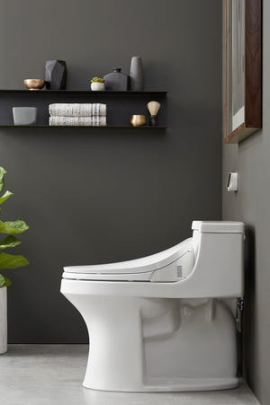 Some smart toilet seat features include seat-warming settings, personal washing and drying, LED lighting, slow-closing lids, an odor control system and even a remote control.