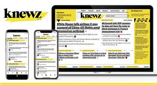 Rupert Murdoch's News Corp. went live with its Knewz service, betting that the irreverently named online platform can become the new way that readers seek out journalism.