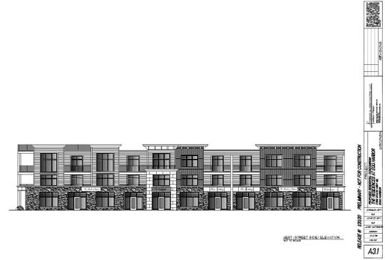 A sketch of what to expect from The Residences at Egg Harbor, a development proposed to break ground this summer.