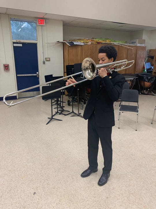 William Hulbert, a junior at Callaway High School, was selected to participate in the Mississippi All-State Lions Band.