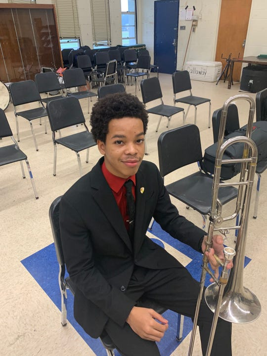 William Hulbert, a junior at Callaway High School, was selected to participate in the Mississippi All-State Lions Band, the top high school band in the state. He is only the second student Jackson Public Schools student in 14 years to be selected.