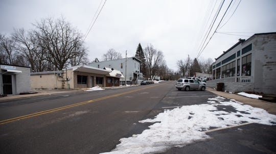 Downtown Bath, Michigan, pictured Tuesday, Jan. 28, 2020.