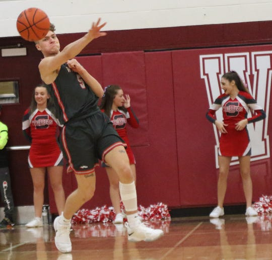 Shelby's TJ Pugh led the Whippets with 30 points in a 78-73 loss to Willard on Tuesday night.