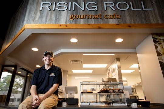 Michael Black is the owner of Rising Roll Gourmet Cafe. Photographed Wednesday, Jan. 29, 2020, at the Memphis restaurant.