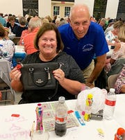 On Jan. 23, the Knights of Columbus San Marco Council #6344 hosted a Bingo Night in the San Marco Parish Center. The Coach bag winner was Nadine Tuleja of Indiana.