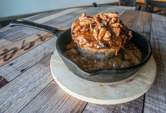 In 2019, Taste won the dessert category at Feast of Flavours with pecan praline bread pudding.