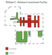 ADOC's new plan to shutter Holman's main prison facility due to maintenance concerns.