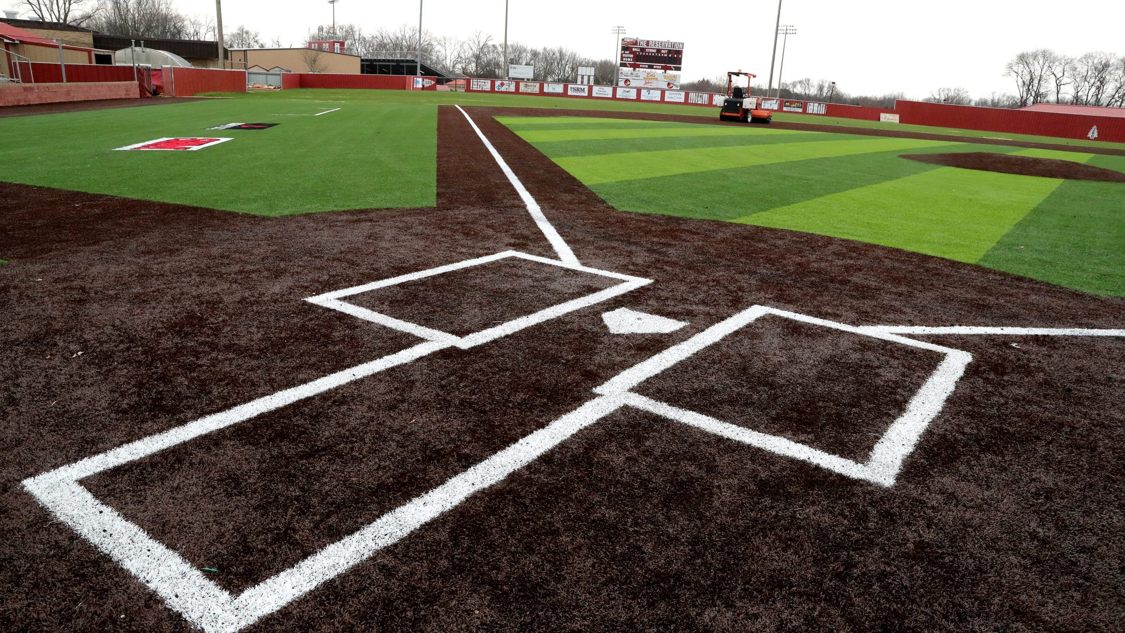 Riverdale Softball Baseball Fields Now Covered In Artificial Turf