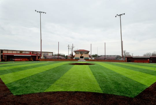 Riverdale baseball's new artificial turf field got little use before the 2020 season was shut down amid the COVID-19 pandemic.