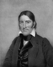 """Davy Crockett, the """"king of the wild frontier"""" in American folklore, served in the Tennessee state legislature and U.S. Congress before he died at the Alamo."""