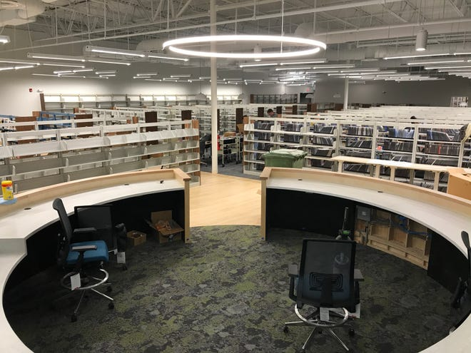 Images from the new Dickson County Library on Jan. 28.