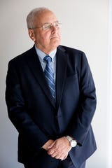 Attorney Yale Freeman poses for a portrait at his law office in Naples on Tuesday, January 28, 2020. Freeman is representing two unnamed defendants in a civil lawsuit alleging that 22 hotels were aware or should have been aware of sex trafficking activity occurring on their properties.