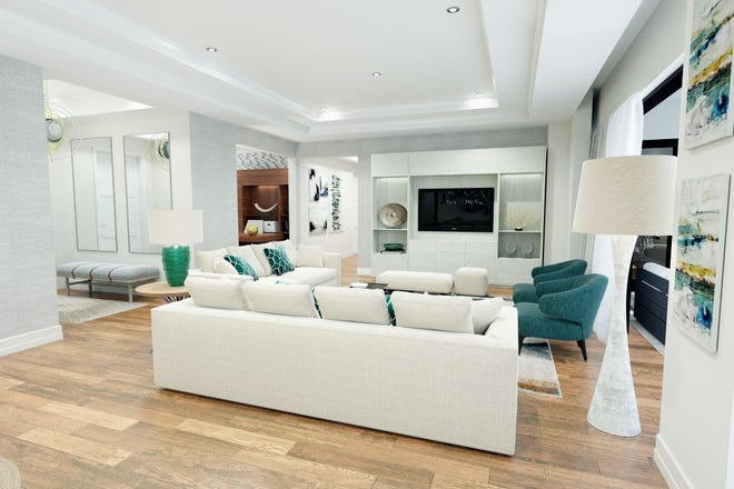 The residences at Quattro offer more living space.