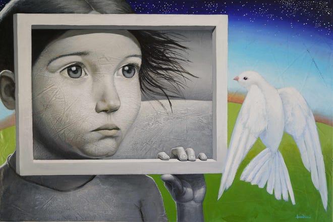 """""""I Wish I Was a Bird,"""" by Juan Diaz"""