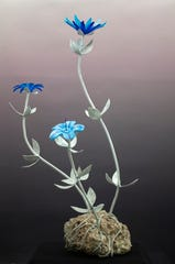 """""""Touch of the Blues,"""" sculpture by Joel Shapses"""
