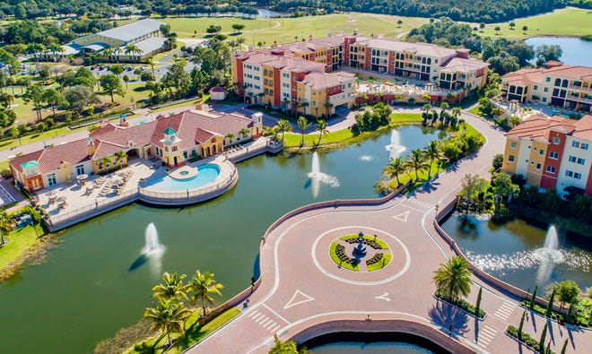 The luxury condominiums at Genova in Estero are priced from the mid-$300s to the $700s.
