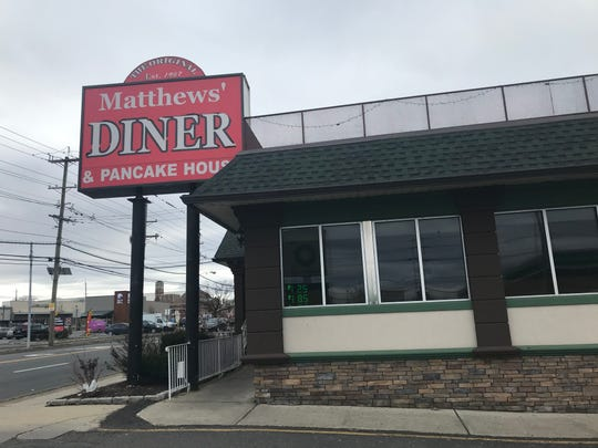 Matthews' Diner and Pancake House in Bergenfield was officially sold on Monday and will reopen in the late spring with a new name.