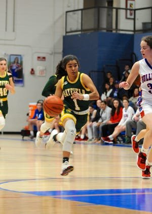 The Mayfield girls basketball team beat Las Cruces on Tuesday at LCHS.