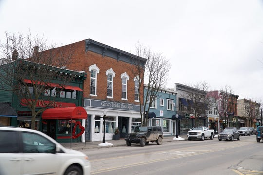 Downtown Milford in January of 2020.