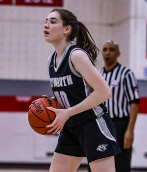 Plymouth's Ella Riley is a lights out shooter for the Wildcats.