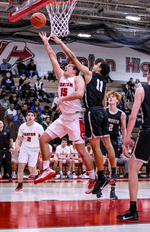 Jake Vickers proved to be a major component in Canton's road win against Northville Friday, as he was against Plymouth.