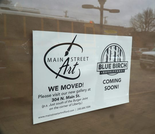 Milford's Blue Birch Outfitters will open in this 304 N. Main storefront in Milford.