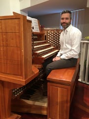 Andrew Herbruck plays the beautiful Nichols and Simpson organ at First Presbyterian Church of Birmingham. He traveled to Paris in summer 2019 to visit organists and learn about the organs built in the 1800s. He was able to play the organ on which one of his favorite composers Olivier Messiaen composed his world famous music.