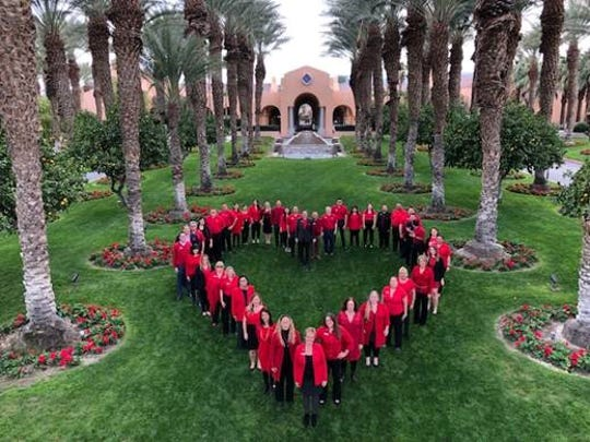 Westin Mission Hills Associates are full of heart