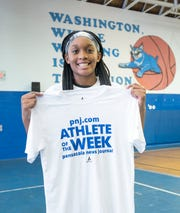 Athlete of the Week - Janelle Jones - Booker T. Washington High School girls basketball player