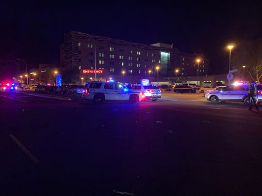 The Scottsdale Police Department was investigating a police shooting at HonorHealth Scottsdale Osborn Medical Center on Jan. 28, 2020.