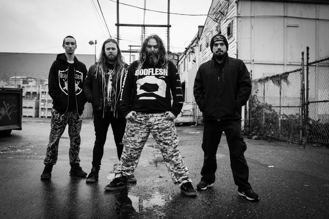 Soulfly, the heavy metal band, formed in Phoenix in 1997.