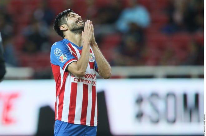 Oribe Peralta, jugador de Chivas.