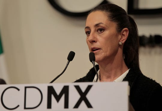 La Jefa de Gobierno de Ciudad de México, Claudia Sheinbaum.