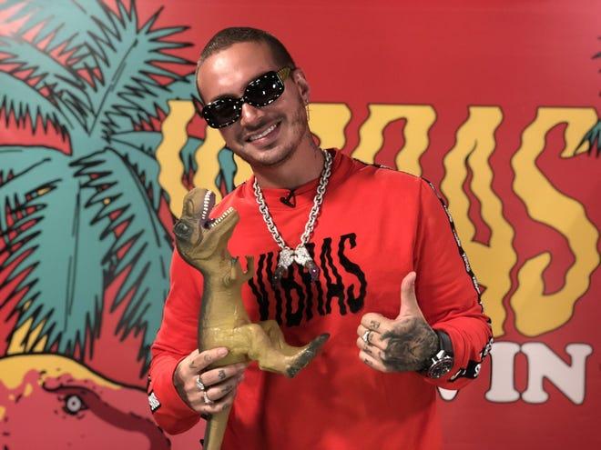 Fotografía del cantante colombiano J Balvin durante una entrevista con Efe en Miami (EE.UU.).