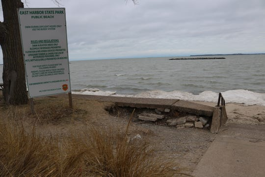Though East Harbor State Park has been facing significant beach erosion, the Ohio Department of Natural Resources investing $408,000 in the park's marina fuel system.