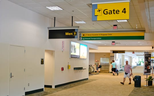 The terminal at Stewart International Airport is pictured in this file photo.