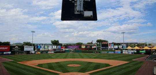 The ABS system at PeoplesBank Park was the first electronic system to call balls and strikes in a professional baseball game, calling a strike on the first pitch of the 2019 ALPB All-Star Game in York last July.