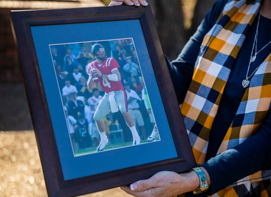 The family of Jevan Snead, a former Texas and Ole Miss quarterback who did by suicide in September, share a photo of him during his college days.