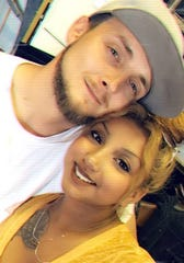 Scott Joseph Weber Jr. and Mercedes Rios pose for a selfie on June 22, 2019, seven months before Weber would be fatally shot by officers in San Angelo on Jan. 24, 2020.