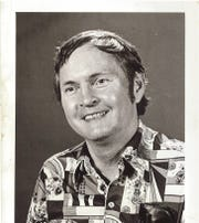 Marty Eddlemon, a former News-Leader sports editor and sports columnist, played on a media team that battled several Kansas City Chiefs in a game of donkey basketball in the Shrine Mosque in 1972.