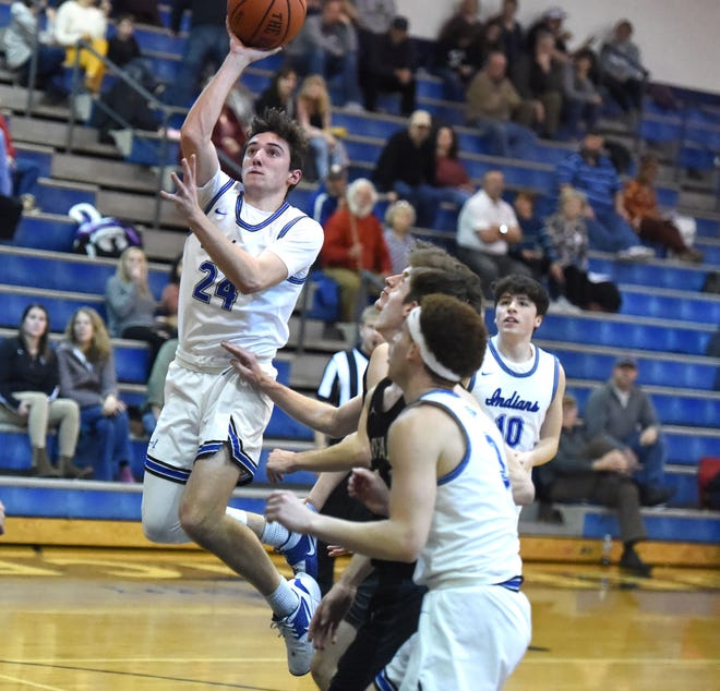 Fort Defiance's Ryan Cook scored 25 points Tuesday night, Jan. 28, in a win over Buffalo Gap.
