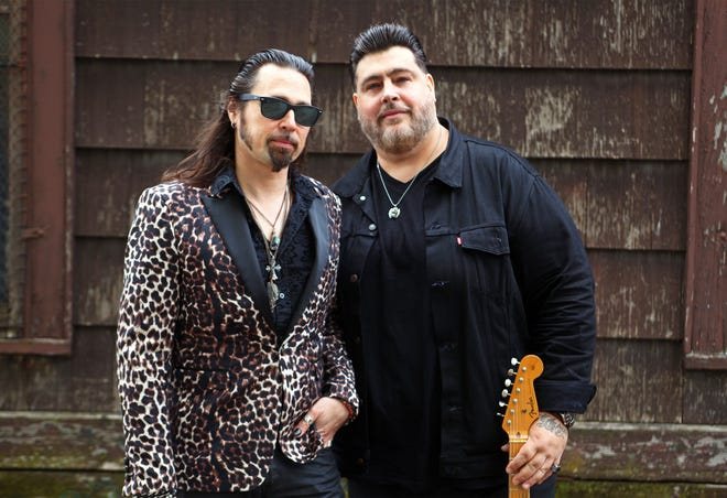 """Nick Moss and harmonica ace Dennis Gruenling bring the big Chicago blues sound showcased their """"Lucky Guy!""""  release to the Bradfordville Blues Club on Friday."""