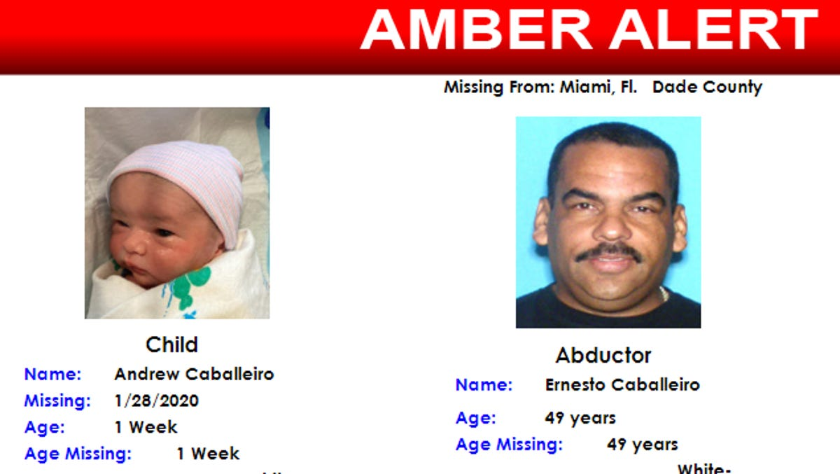 Amber Alert Father Sought Newborn Missing After 3 Women Killed In Miami