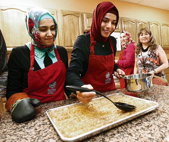The Raindrop Turkish House has a food festival about once or twice a year to share Turkish culture with the community.