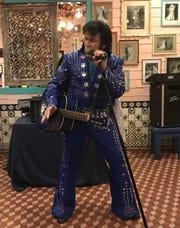 Bud Sanders is the main Elvis impersonator in El Paso, entertaining El Paso crowds for years.